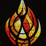 Lighting The Way - Wayland Kaltwasser Flame Poster