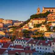 Lisbon. Image Of Lisbon, Portugal Poster