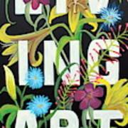 Living Art Poster