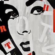 Liz Taylor Poster