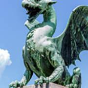 Ljubljana's Dragons Poster