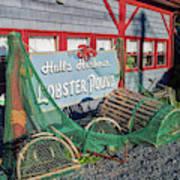 Lobster Pond Restaurant In Halls Harbour Ns Poster