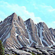 Lofty Peaks Poster