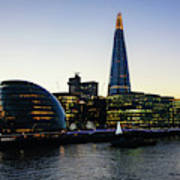 London South Bank 1 Poster
