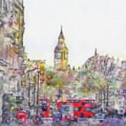 London Street 1 Poster