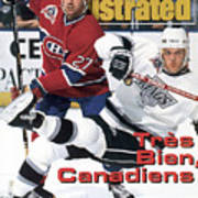 Los Angeles Kings Tomas Sandstrom, 1993 Nhl Stanley Cup Sports Illustrated Cover Poster