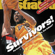 Los Angeles Lakers Kobe Bryant, 2000 Nba Western Conference Sports Illustrated Cover Poster