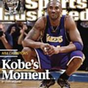 Los Angeles Lakers Kobe Bryant, 2009 Nba Finals Sports Illustrated Cover Poster