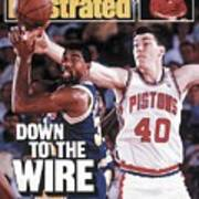 Los Angeles Lakers Magic Johnson, 1988 Nba Finals Sports Illustrated Cover Poster