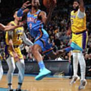 Los Angeles Lakers Vs Oklahoma City Poster