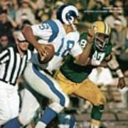 Los Angeles Rams Roman Gabriel Sports Illustrated Cover Poster
