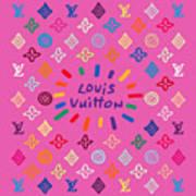 Louis Vuitton Monogram-9 Poster