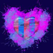 Love Barcelona Poster