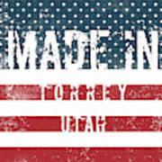 Made In Torrey, Utah #torrey Poster