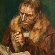 Man Reading 1922 Poster