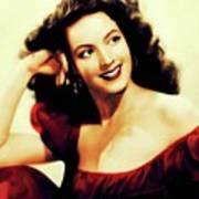 Maria Felix, Vintage Actress Poster