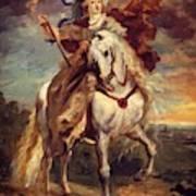 Marie De Medici At Pont De Ce Poster