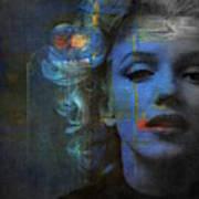 Marilyn Monroe - Retro  Poster