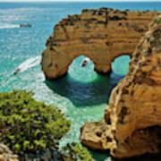 Marinha Arches, Portugal Poster