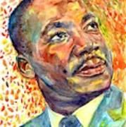 Martin Luther King Jr Portrait Poster
