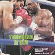 Marvelous Marvin Hagler, 1983 Wbcwbaibf Middleweight Title Sports Illustrated Cover Poster