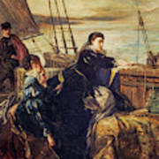 Mary, Queen Of Scots - The Farewell To France, 1867  Poster