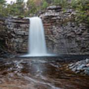 May Evening At Awosting Falls I Poster