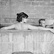 Mcqueen & Adams In Sulphur Bath Poster