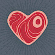 Meat Heart Poster