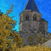 Medieval Bell Tower 3 Poster