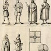 Members Of The Order Of Christ  Poster