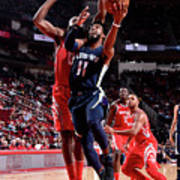 Memphis Grizzlies V Houston Rockets Poster