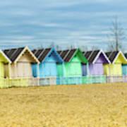 Mersea Island Beach Huts, Image 3 Poster