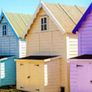 Mersea Island Beach Huts, Image 6 Poster