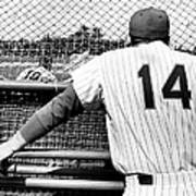 Mets Manager Gil Hodges Gets Catchers Poster