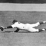 Mets Ron Swoboda Dives To Stab Brooks Poster