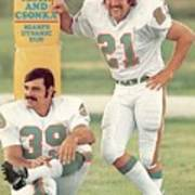 Miami Dolphins Jim Kiick And Larry Csonka Sports Illustrated Cover Poster