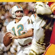Miami Dolphins Qb Bob Griese, Super Bowl Vii Sports Illustrated Cover Poster