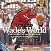 Miami Heat Dwyane Wade, 2006 Nba Eastern Conference Finals Sports Illustrated Cover Poster