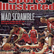 Miami Heat V Chicago Bulls - Game Two Sports Illustrated Cover Poster
