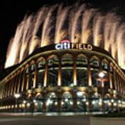 Miami Marlins V New York Mets Poster