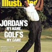 Michael Jordan, 1989 St. Jude Classic Sports Illustrated Cover Poster