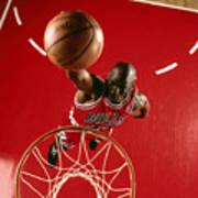 Michael Jordan Slam Dunk Poster