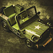 Military Green Poster