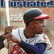 Milwaukee Braves Hank Aaron Sports Illustrated Cover Poster