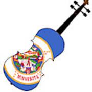 Minnesota State Fiddle Poster