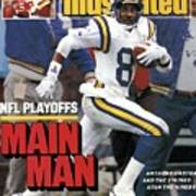 Minnesota Vikings Anthony Carter, 1988 Nfc Divisional Sports Illustrated Cover Poster