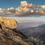Mount Laguna Rocks And Sunset Poster