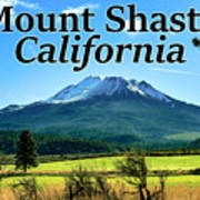 Mount Shasta California Poster