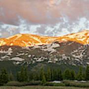 Mt. Lincoln Sunrise Poster